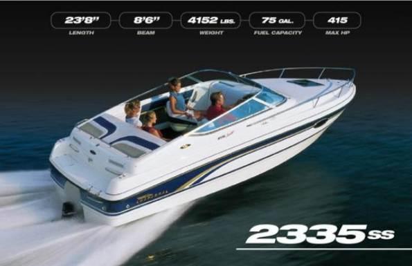 Brokerage : motor yachts : CHAPARRAL 2335 ss